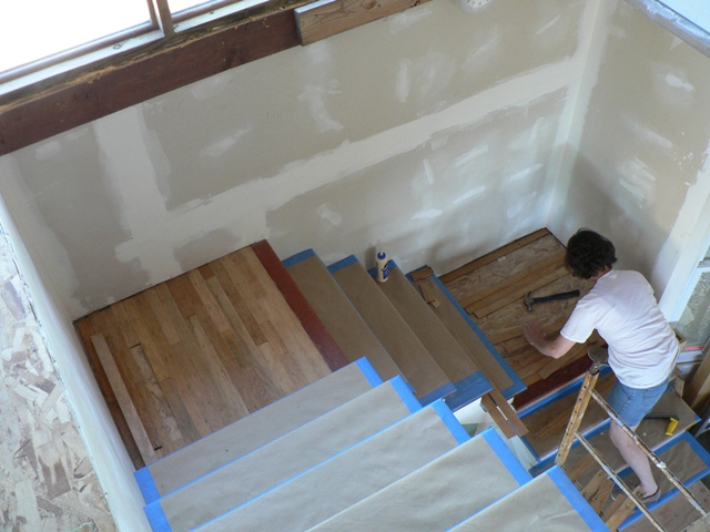 Laminate Flooring On Stair Landing Laplounge